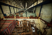 Museum attached to abandoned Belgian powerplant ECVB