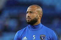 San Jose, CA - Friday April 14, 2017: Victor Bernardez  prior to a Major League Soccer (MLS) match between the San Jose Earthquakes and FC Dallas at Avaya Stadium.