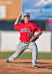 4 September 2016: Lowell Spinners starting pitcher Dakota Smith on the mound against the Vermont Lake Monsters at Centennial Field in Burlington, Vermont. The Spinners defeated the Lake Monsters 8-3 in NY Penn League action. Mandatory Credit: Ed Wolfstein Photo *** RAW (NEF) Image File Available ***