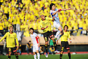 (R-L) Hideto Takahashi (FC Tokyo),  Jorge Wagner (Reysol),.MARCH 3, 2012 - Football / Soccer :.FUJI XEROX Super Cup 2012 match between Kashiwa Reysol 2-1 F.C.Tokyo at National Stadium in Tokyo, Japan. (Photo by AFLO)