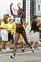 Falmouth Road Race, women's champion Margaret Wangaru