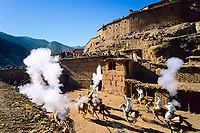 Traditional moussem festival in Abachkou, High Atlas, Morocco, 2002