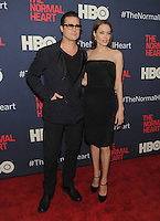 New York, NY- May 12: Brad Pitt and Angelina Jolie attend the  New York premiere of Normal Heart on May 12, 2014 at the Ziegfeld Theater in New York City. Credit: John Palmer/MediaPunch