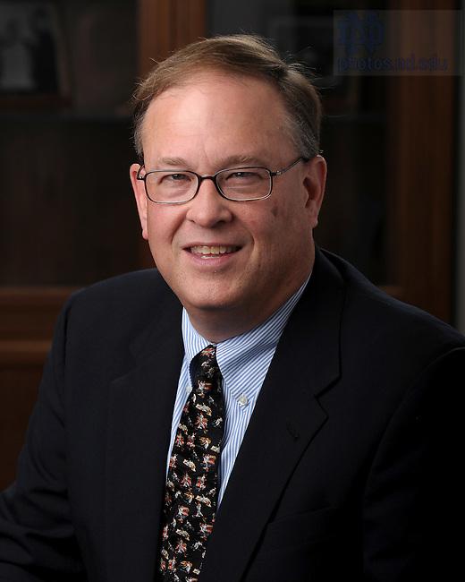 Law School Associate Dean for Library and Information Technology Ed Edmonds..Photo by Matt Cashore/University of Notre Dame