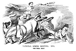National Spring Meeting. 1874. The Final Heat.