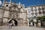 Santa Maria Arch, Burgos, Spain