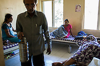 Surrogates pass their time chatting with each other in the surrogates hostel on the 3rd floor of Dr. Nayana Patel's Akanksha IVF and surrogacy center in Anand, Gujarat, India on 11th December 2012. Photo by Suzanne Lee / Marie-Claire France