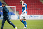 St Johnstone v Partick Thistle&hellip;29.10.16..  McDiarmid Park   SPFL<br />A gutted Liam Craig at full time<br />Picture by Graeme Hart.<br />Copyright Perthshire Picture Agency<br />Tel: 01738 623350  Mobile: 07990 594431