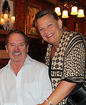Guiding Light's Kim Zimmer along with All My Children's Tom Wopat and Dukes of Hazard pose with Kim's son Max and his fiance Rebecca at the Barn Theatre - A Celebration at Feinsteins/54 Below, New York City, New York on April 28. 2017. Barn Theatre is located in Augusta, Michigan.  (Photo by Sue Coflin/Max Photos)