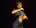 Edinburgh, UK. 13.08.13.  Patrick Monahan performs at the Big C Comedy Gala, in aid of Macmillan Cancer Support, as part of the Edinburgh Festival Fringe.  Photograph © Jane Hobson.