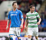 St Johnstone v Celtic...07.05.14    SPFL<br /> Gary McDonald on his return from injury<br /> Picture by Graeme Hart.<br /> Copyright Perthshire Picture Agency<br /> Tel: 01738 623350  Mobile: 07990 594431