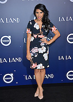 Actress Tiffany Smith at the Los Angeles premiere for &quot;La La Land&quot; at the regency Village Theatre, Westwood. <br /> December 6, 2016<br /> Picture: Paul Smith/Featureflash/SilverHub 0208 004 5359/ 07711 972644 Editors@silverhubmedia.com