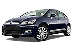 Citroen C4 Executive Hatchback 2009 Stock Photos