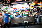 Penang's famous dish, Assam Laksa sold at a Chinese Hawker stall in the UNESCO heritage city of Georgetown in Penang, Malaysia. Photo: Sanjit Das/Panos