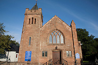 Broddick Parish Church on the Isle of Arran, Scotland