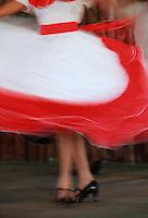 Cuba/La Havane: Musique, Son, Salsa, Rumba et danseuses - Détail des pieds de la danseuse