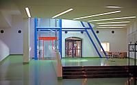 James Stirling, Michael Wilford & Assoc.: Neve Staatsgalerei--Interior. Stuttgart.