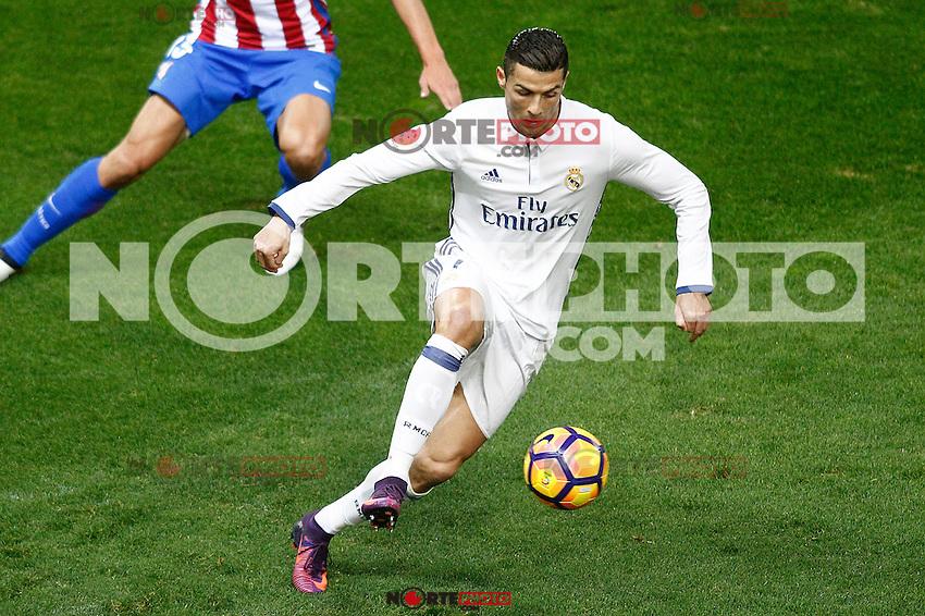 Real Madrid's Cristiano Ronaldo during La Liga match. November 19,2016. (ALTERPHOTOS/Acero) /NORTEPHOTO.COM