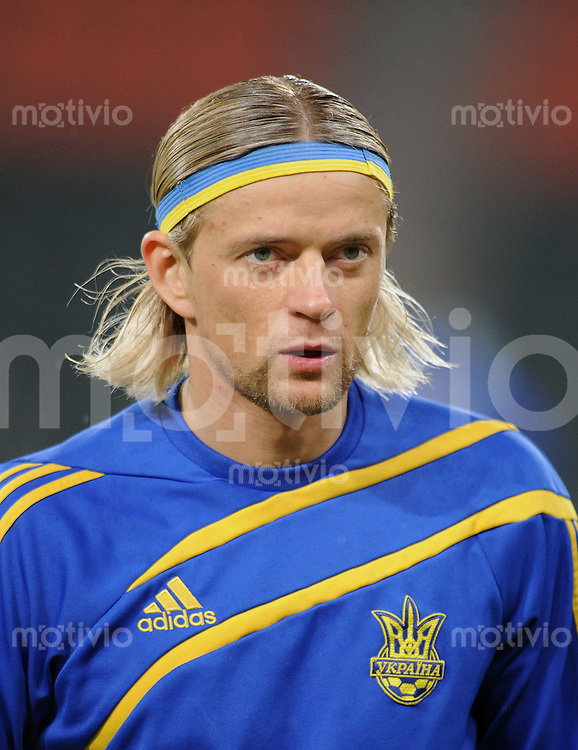 Fussball International   WM  2010  Play Off    18.11.2009 Ukraine - Griechenland Anatoliy Tymoshchuk (UKR)