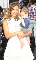 NEW YORK, NY-August 31: Ginger Zee, Adrian Benjamin Colonomos at Good Morning America in New York. August 31, 2016. Credit:RW/MediaPunch