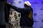 USA-FIFA soccer 13 game launching during a event in New York