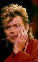 david BOWIE<br /> 1987<br /> &copy; FERRANDIS/ DALLE