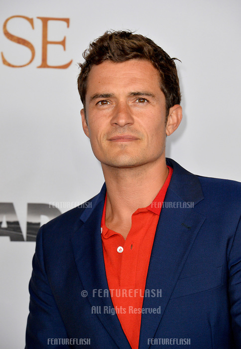 Orlando Bloom at the premiere for &quot;The Promise&quot; at the TCL Chinese Theatre, Hollywood. Los Angeles, USA 12 April  2017<br /> Picture: Paul Smith/Featureflash/SilverHub 0208 004 5359 sales@silverhubmedia.com