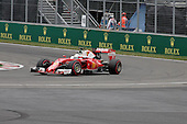 Montreal, Canada.Sebastian Vettel (GER) for Scuderia Ferrari  at the Formula One Canadian Grand Prix held at the circuit Gilles-Villeneuve in Montreal, Quebec. June 12 2016
