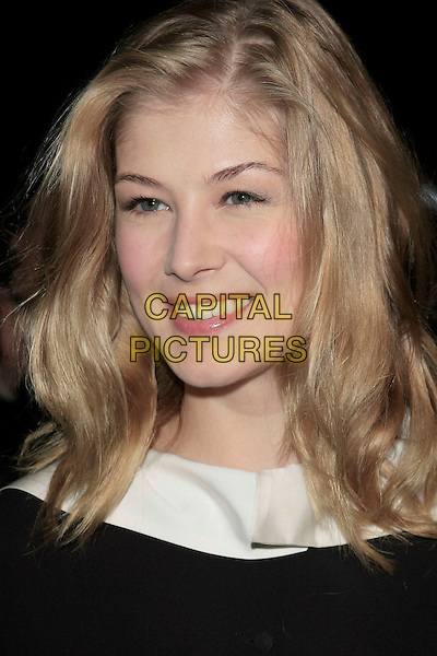 """ROSAMUND PIKE.""""Atonement"""" Los Angeles Premiere held at the Academy Theatre, Beverly Hills, California, USA,.06 December, 2007..portrait headshot.CAP/ADM/RE.©Russ Elliot/AdMedia/Capital Pictures."""