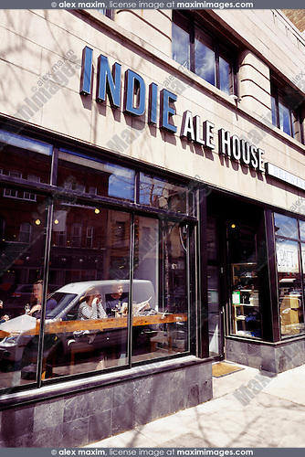 Indie Ale House bar at the Junction neighbourhood in Toronto, Canada