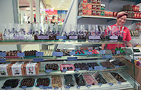 The speciality store Karius & Baktus in Alta, Norway, is selling gourmet chocolate from Meium Sjokoladefabrikk and other producers.