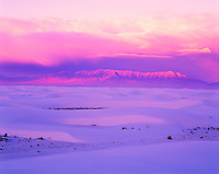 Sunrise Light, White Sands National Monument, New Mexico