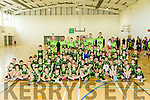At the Kieran Donaghy Basketball Camp Prize giving on Friday at Mitchels sports Complex