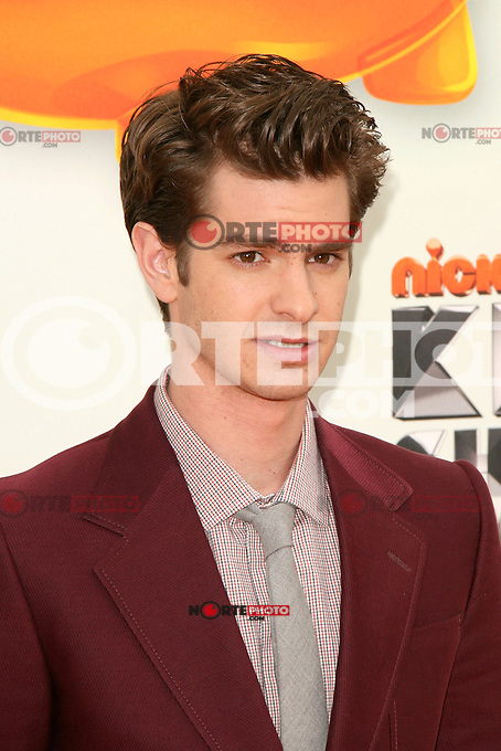 Andrew Garfield at Nickelodeon's 25th Annual Kids' Choice Awards at The Galen Center on March 31, 2012 in Los Angeles, California. © mpi26/MediaPunch Inc.