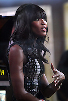 JAN 23 Naomi Campbell at NBC's Today Show