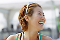 Satoko Urata, MAY 6, 2012 - Beach Volleyball : JBV Tour 2012 Sports Club NAS Open  Women's final at Odaiba Beach, Tokyo, Japan. (Photo by Yusuke Nakanishi/AFLO SPORT) [1090]