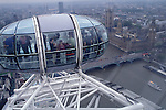 View of Westminster from London Eye