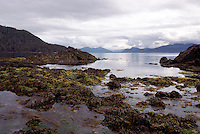 Haida Gwaii (Queen Charlotte Islands), BC, British Columbia, Canada - Rocky Coastline on Graham Island