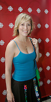 Montreal (Qc) CANADA, August 22, 2007 - <br /> Isabelle Blais<br />  Lancement Radio Canada automne 2007