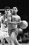 19 MAR 1966:  UTEP's (Texas Western) Bobby Joe Hill (14) broke open the game against Kentucky with steals from Kentucky guards during the NCAA Final Four Men's Championship game held in College Park, MD. at the Cole Fieldhouse. UTEP defeated Kentucky 72-65 to win the championship. Photo Copyright Rich Clarkson
