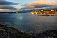 Norway, Lofoten. Hovsund on the northern part of Gimsøya.