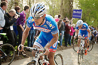 Bjorn Leukemans (BEL/Wanty-GroupeGobert) up the Taaienberg and <br /> <br /> 57th E3 Harelbeke 2014