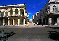 Decaying colonial buildings Old Havana, Cuba, Republic of Cuba,