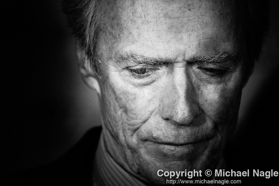 Director/producer/actor Clint Eastwood on October 10, 2010 in New York City.  (Photo by Michael Nagle)
