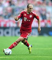 FUSSBALL   1. BUNDESLIGA  SAISON 2011/2012   3. Spieltag FC Bayern Muenchen - Hamburger SV           20.08.2011 Arjen Robben (FC Bayern Muenchen)