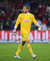 FUSSBALL   1. BUNDESLIGA   SAISON 2012/2013  5. SPIELTAG  26.09.2012 SC Freiburg - SV Werder Bremen Torwart Sebastian Mielitz (SV Werder Bremen)