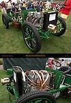 1902 Napier model D50 Gordon Bennett, First British Winner of an International Race, Pebble Beach Concours d'Elegance
