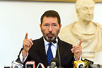 Conferenza stampa di Ignazio Marino