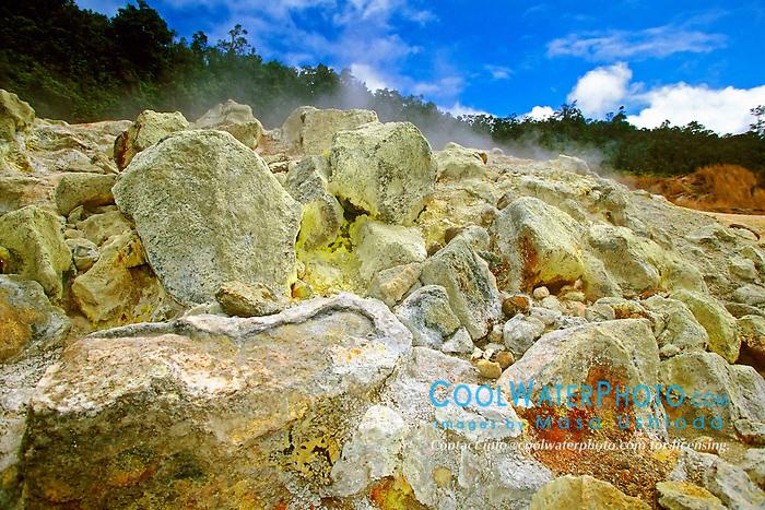 Sulpher Banks (Ha`akulamanu), Hawaii Volcanoes National Park, Kilauea, Big Island, Hawaii