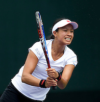 Anne KEOTHAVONG  (GBR) against Tamira PASZEK (AUT) in the first round. Paszek beat Keothavong 6-4 6-2..International Tennis - 2010 ATP World Tour - Sony Ericsson Open - Crandon Park Tennis Center - Key Biscayne - Miami - Florida - USA - Wed 24 Mar 2010..© Frey - Amn Images, Level 1, Barry House, 20-22 Worple Road, London, SW19 4DH, UK .Tel - +44 20 8947 0100.Fax -+44 20 8947 0117